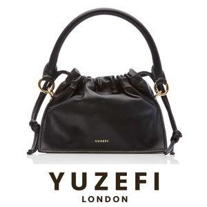 Yuzefi black Bom leather mini bag- like new